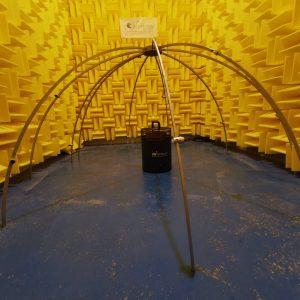 Hemisphere microphone array PLACID