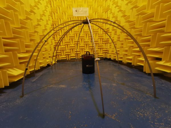 Hemisphere microphone array PLACID